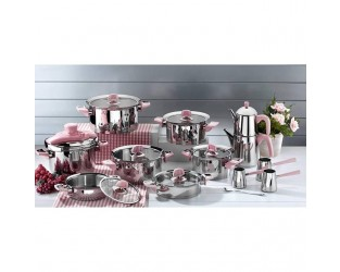 Aryıldız King Pudra Cam İdeal Set 44200